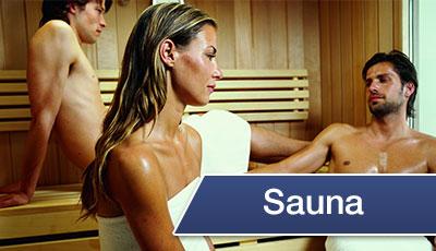 Bereich Sauna